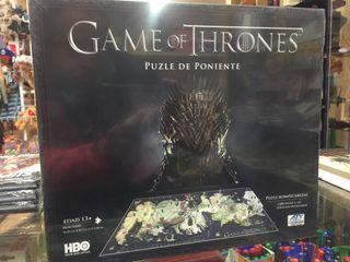 Puzzle 3d juego de tronos