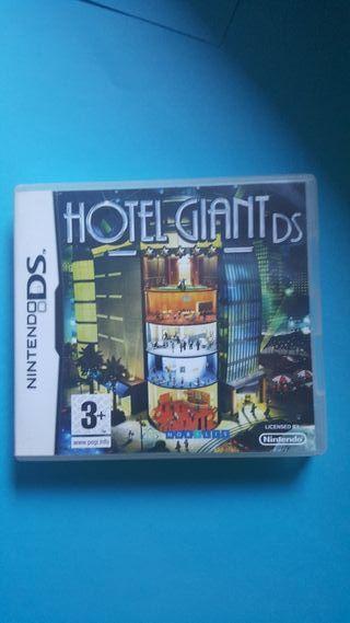 Videojuego Hotel Giant para Nintendo DS