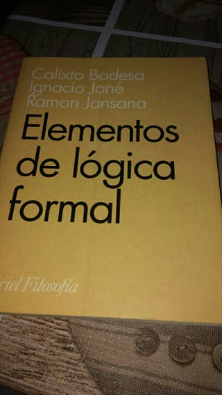 Elementos de lógica formal