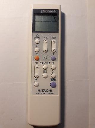 mando a distancia aire acondicionado Hitachi
