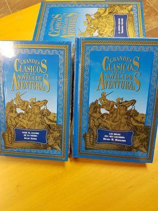 6 libros de aventuras sin estrenar