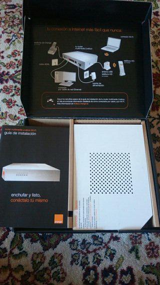 Livebox Orange Router WiFi