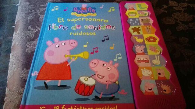 libro sonidos peppa pig
