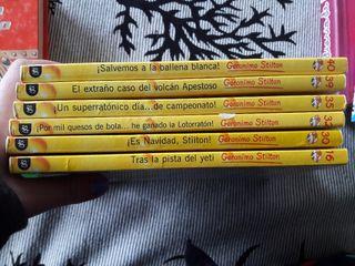 6 Libros infantiles,Geronimo Stilton