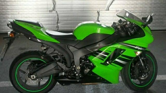 Kawasaki zx6r 2008