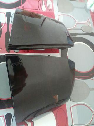 Faros traseros negros Opel Astra G
