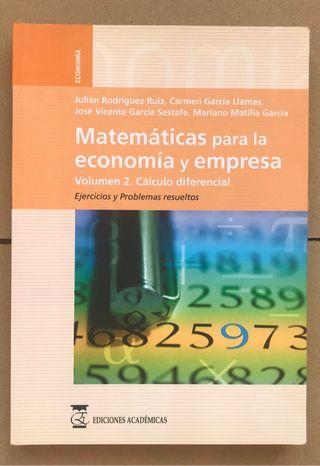 Libro CALCULO DIFERENCIAL UNED ADE Empresa Derecho