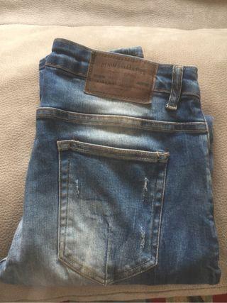 Jeans zara hombre taller 40