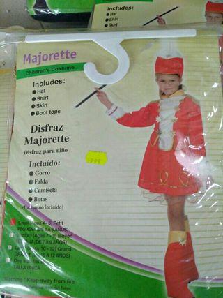 Disfraz infantil Majorette 4-5 años