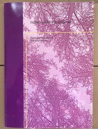 Libro INTRODUCCION A LA EMPRESA UNED ADE Economía