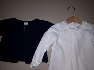 Chaqueta y camisa