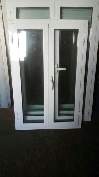 3 ventanas aluminio climalit
