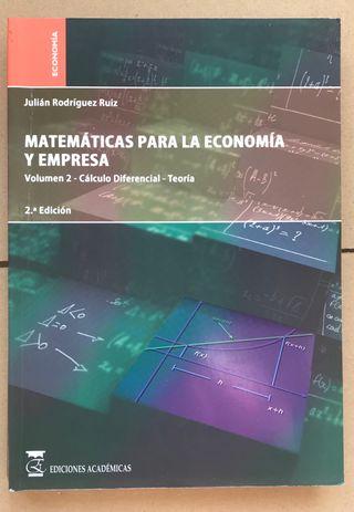Libro CALCULO DIFERENCIAL UNED ADE Empresa Lógica