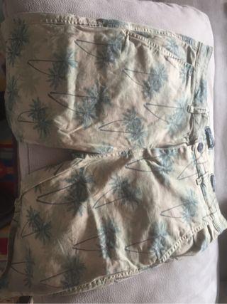 Bershka pantalones cortos taller 42