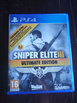 Sniper Elite III ultimate edition para ps4