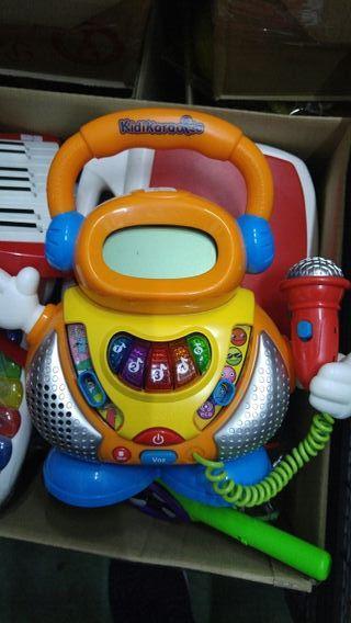 Juego infantil Karaoke vtech