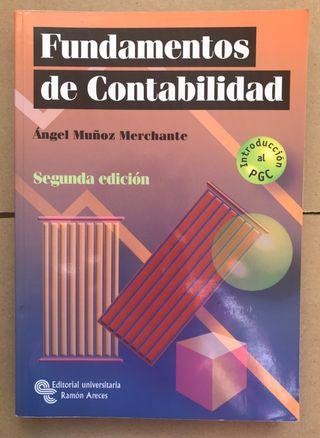 Libro FUNDAMENTOS DE CONTABILIDAD UNED ADE Empresa