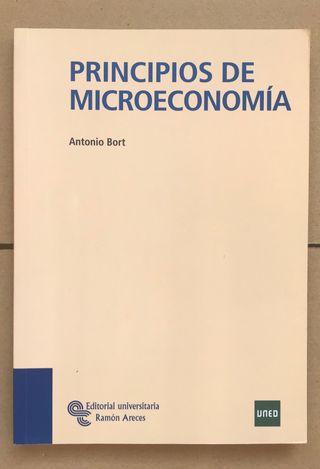 Libro PRINCIPIOS DE MICROECONOMÍA UNED ADE Empresa