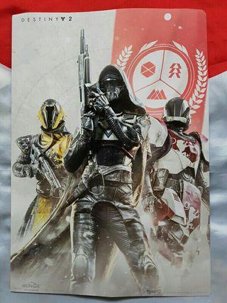 Mini póster Destiny 2