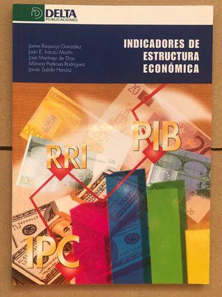 Libro INDICADORES DE ESTRUCTURA ECONÓMICA UNED ADE
