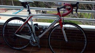 Bicicleta de carbono orbea onix