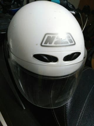 casco moto infantil