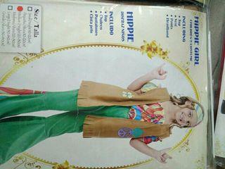 Disfraz 4-5 años hippie niña