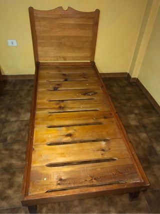 Estructura de cama + cabecero