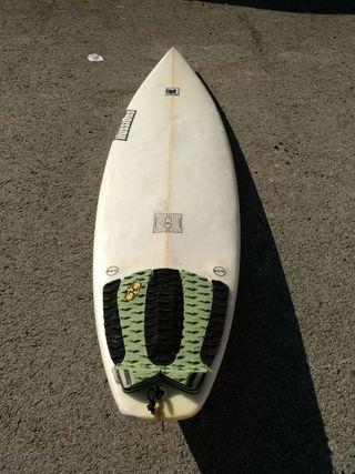 Tabla surf Ilussions 6.2, 18. 1/2, 2. 5/16