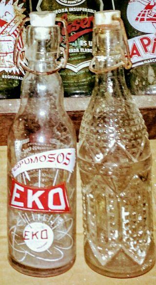 Botella Antigua 0.50cl gaseosa