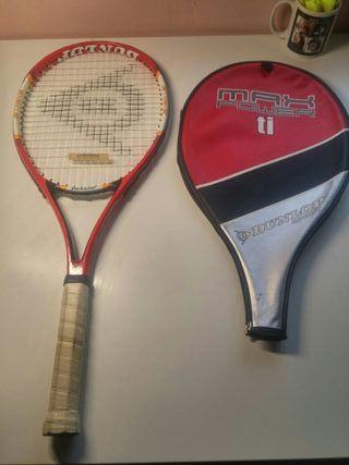 Raqueta tenis iniciacion adulto dunlop