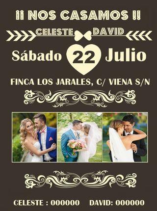 Invitaciones de boda economicas