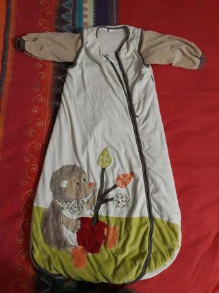 Saco de dormir con mangas extraíble
