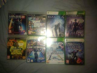 Juegos Xbox360 (PS3 vendidos)