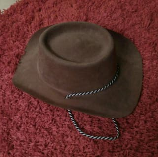 Gorro Cowboy / Vaquero Complemento de disfraz