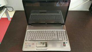 Portátil HP 17 averiado