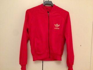 Chaqueta roja y dorada Adidas Originals