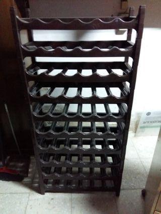 botellero plástico apilable (10 alturas)