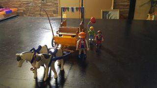 Carreta de paseo playmobil