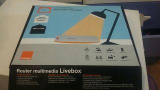 Router wi-fi multimedia live box orange