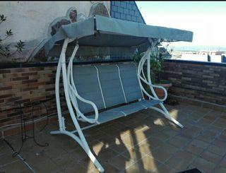 balancin columpio terraza
