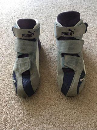 Puma suede trainer size 4