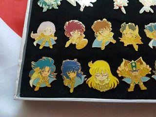 Saint Seiya Set 17 pins