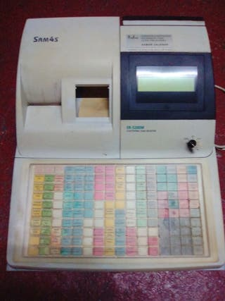 Caja registradora.