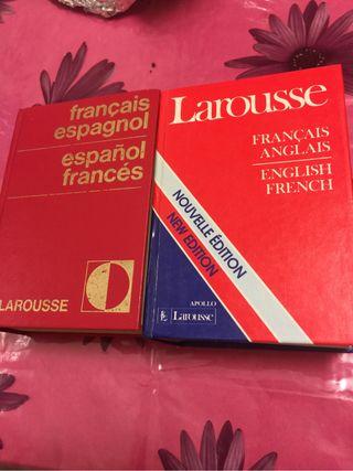 Diccionarios frances espanol