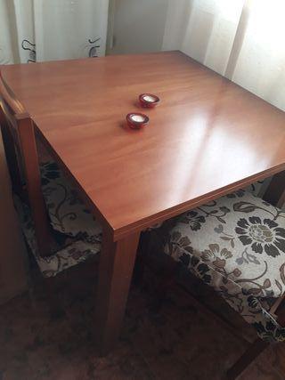 Mesa comedor con 6 sillas