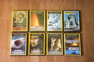 Usado, Pack 8 documentales DVD National Geographic segunda mano  España