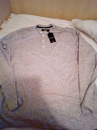 Camiseta G-Star Raw Regular fit gris jaspeada NUEV