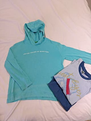 Camiseta benetton+ pijama de regalo