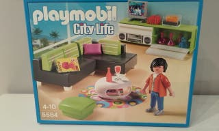 Salon City Life de playmobil